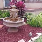 succulents mulch